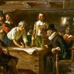 Anniversary Post: Mayflower Compact
