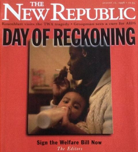 New Republic - Welfare Reform