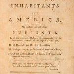 Anniversay Post: Thomas Paine's Common Sense