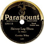 Skinny Leg Blues - Geeshie Wiley