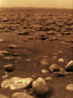 Huygens picture of Titan's surface