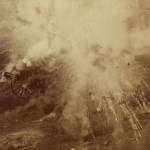 Explosion at Battle of Paardeberg - Bloody Sunday
