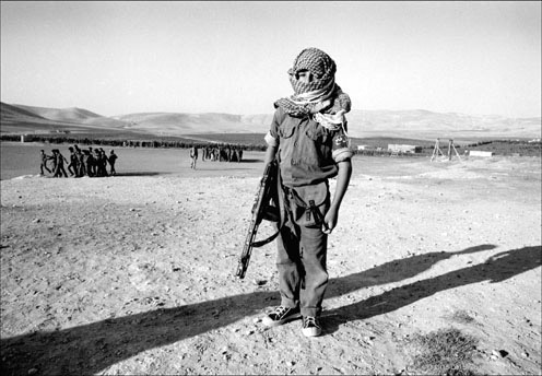 An eight year old child of Fatah Jordan, 1969