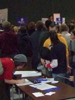 Iowa City Democratic Caucus 2008