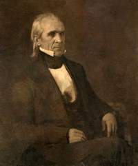 James Polk by Mathew Brady
