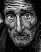 Homeless Man - Social Security