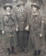Juliette Gordon Low With Early Girl Scouts
