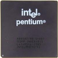 Pentium, 80586, 586, Whatever