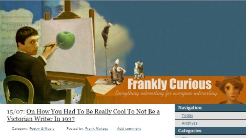 Frankly Curious Website 2010