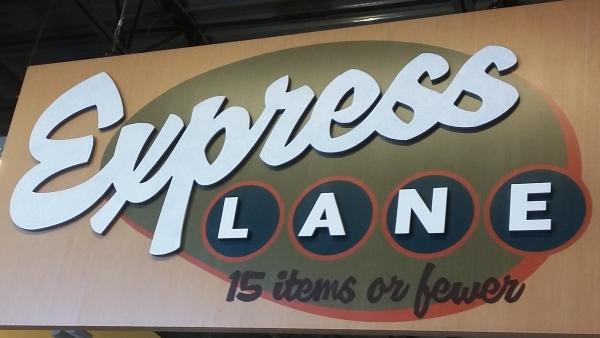 Express Lane: Less vs Fewer