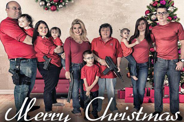 Nevada Representative Michele Fiore Christmas Card