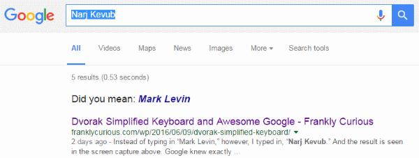 Narj Kevub - Mark Levin - New