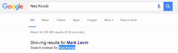 Narj Kevub - Mark Levin