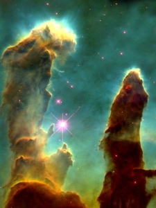 Pillars of Creation - NASA
