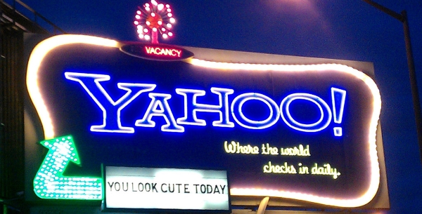 Yahoo! Sign on I-80