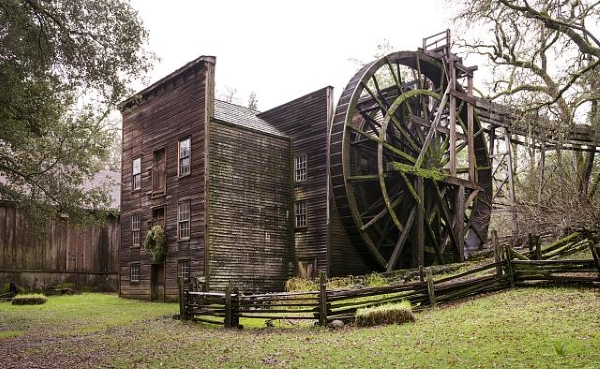 Bale Grist Mill - Carol Highsmith