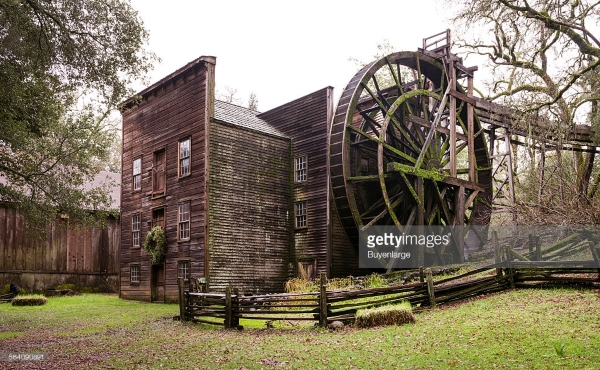 Bale Grist Mill - Getty Image Watermark