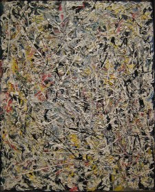 Nothing: Jackson Pollock, White Light, 1954
