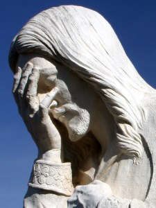 Jesus Crying Because Evangelical Christians Don't Follow Him