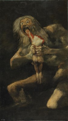 Saturn Devouring His Son - Anthropophagi