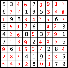 sudoku solving puzzles the easy way with a paint program