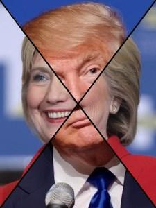 Clinton - Trump - Did Not Happen