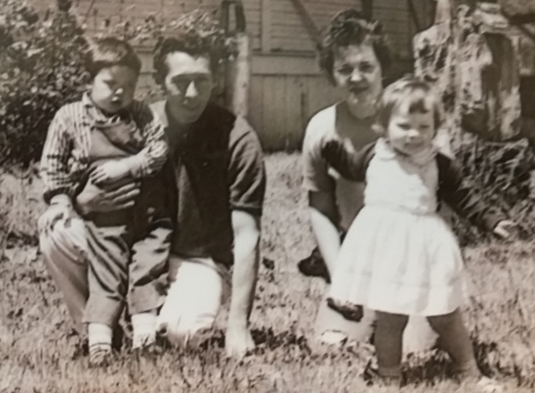 Eric as a Child With Family