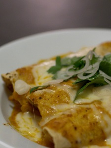 Parchment Paper And Delicious Healthy Enchiladas