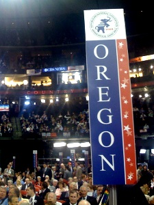 RNC Oregon Sign - Political Tribalism
