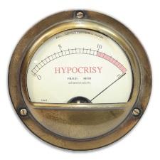 Fake Hypocrisy Versus Real Hypocrisy