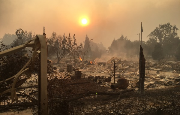 My Life in the California Fire
