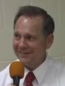 Pedophile Christian Roy Moore