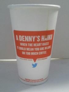 Denny's Haiku