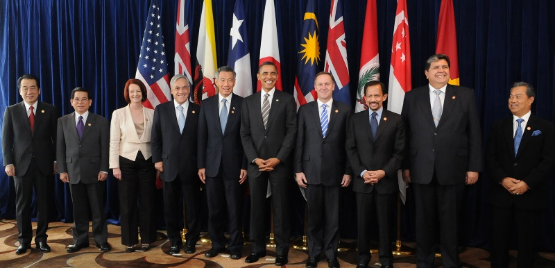 TPP Country Leaders