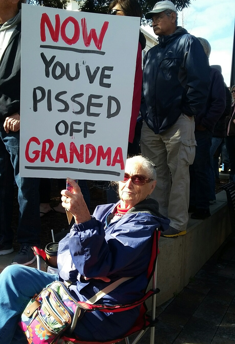 Now You've Pissed Off Grandma