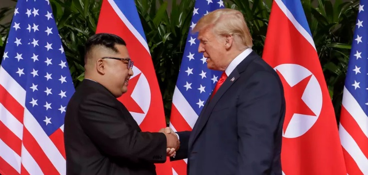 North Korea's Kim Jong-un winning the negotiations with Donald Trump