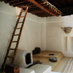 Recreated Çatalhöyük Home