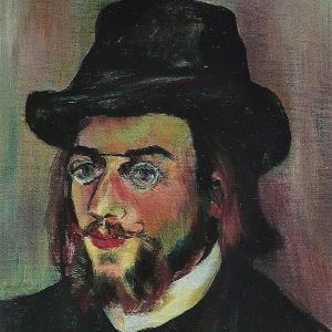 Erik Satie by Suzanne Valadon