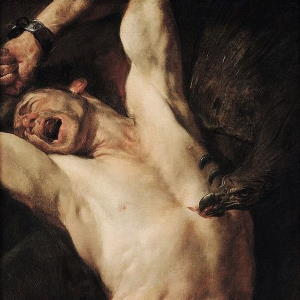 The Torture of Prometheus - Gioacchino Assereto