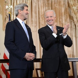 John Kerry and Joe Biden - 2013