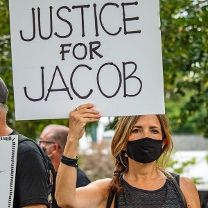 Jacob Blake Protestor