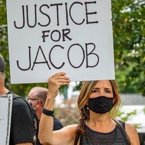 Jacob Blake Protestor